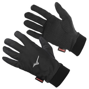 Mizuno Breath Thermo Wind Guard Gloves - Unisex Running Gloves