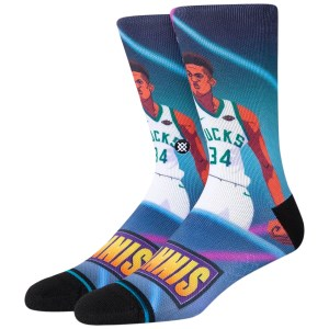 Stance Fast Break Giannis Milwaukee Bucks NBA Socks