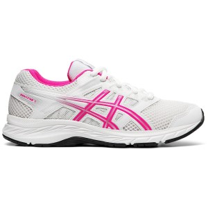 Asics Contend 5 GS - Kids Girls Running Shoes
