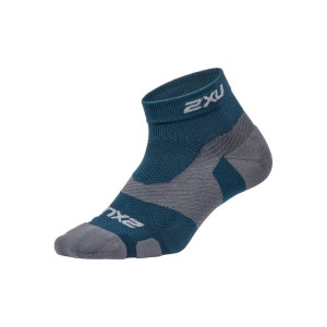 2XU Vectr Light Cushion 1/4 Crew - Unisex Running Socks