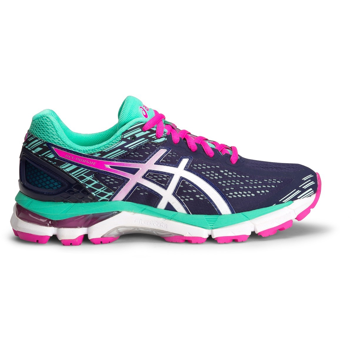 4fad559b9f2 Asics Gel Pursue 3 (D) - Womens Running Shoes - Indigo Blue/White ...