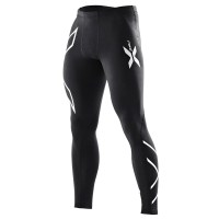2XU Mens Compression Tights - Black/Silver