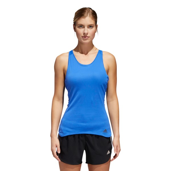 Adidas Response Light Speed Womens Running Tank Top - Blue