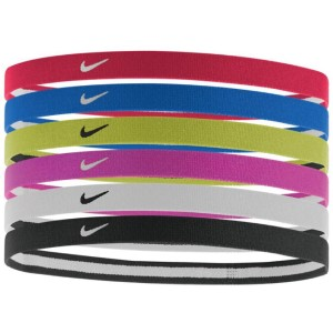 Nike Swoosh Sports Headband - Assorted 6 Pack