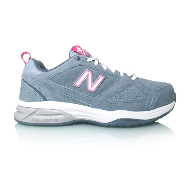 New Balance 624v4 - Womens Cross Training Shoes - Grey/Pink
