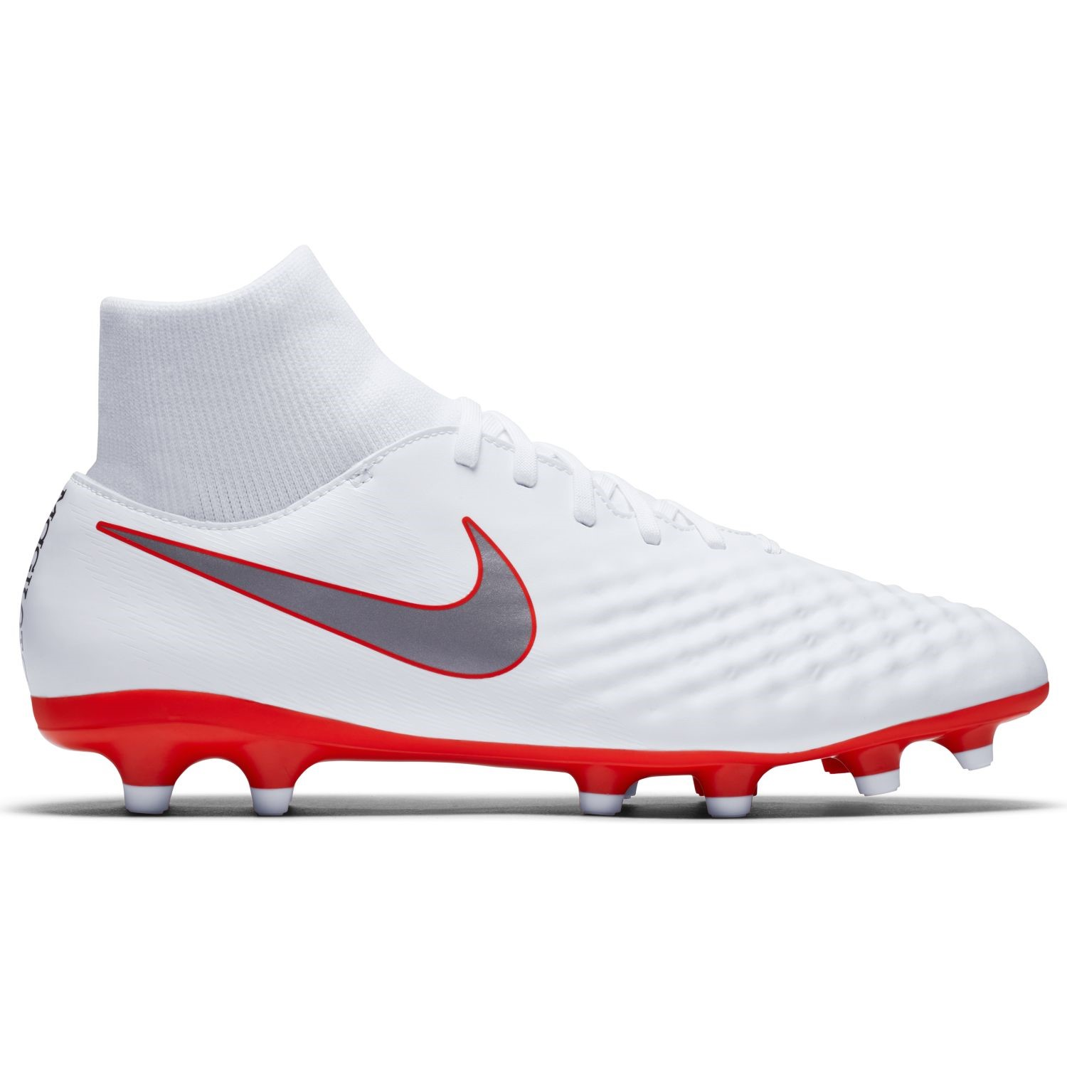 official photos c626e cdc65 Nike Magista Obra II Academy DF FG - Mens Football Boots - WhiteMetallic