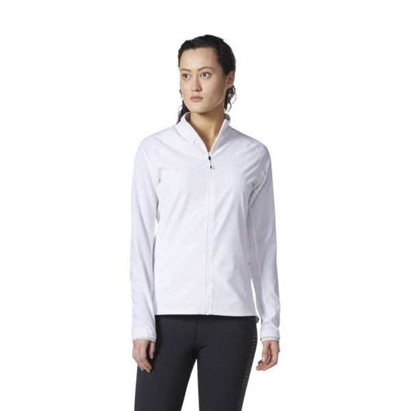 Adidas Supernova Womens Running Storm Jacket - White