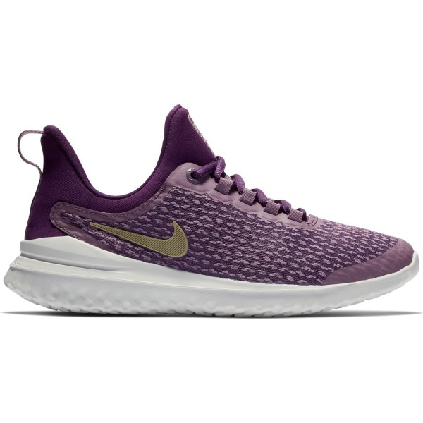 Nike Renew Rival GS - Kids Girls Running Shoes - Violet Dust/Metallic Gold Star/Night Purple