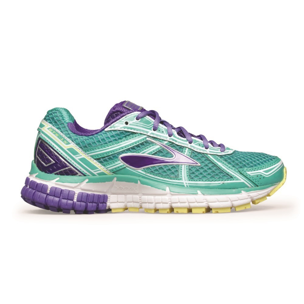 5fd062b21be Brooks Adrenaline GTS 15 - Kids Girls Running Shoes - Billiard Blue Lime