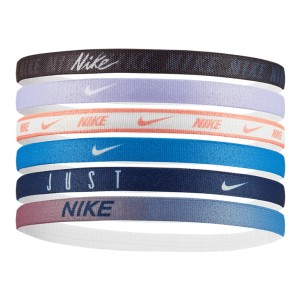Nike Printed Unisex Sports Headband - Assorted 6 Pack