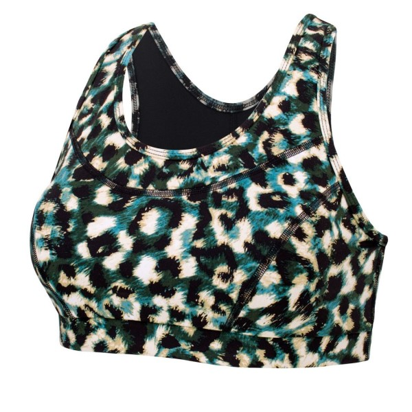 Running Bare Stop Traffic Womens Crop Top - Chrissy