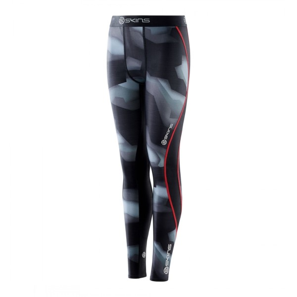 Skins DNAmic Youth Kids Compression Long Tights - Glitch Camo