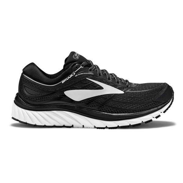 Brooks Glycerin 15 - Mens Running Shoes - Black/Silver/White