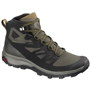 Salomon Outline Mid GTX - Mens Trail Hiking Shoes