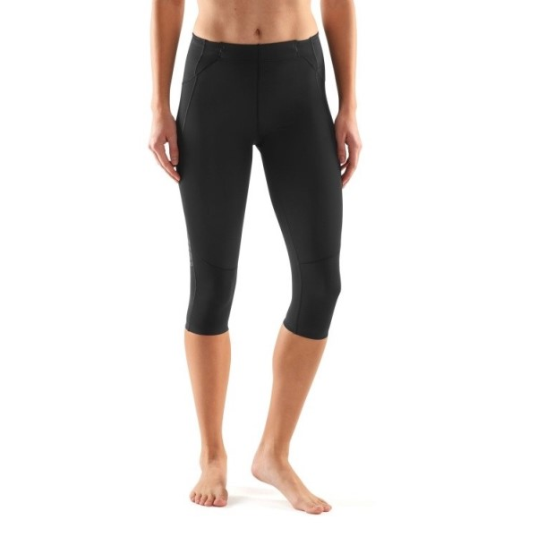 ced63d5ca7 Skins A400 Skyscraper Womens 3/4 Compression Tights - Black | Sportitude