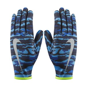 Nike Printed Lightweight Rival Mens Running Gloves