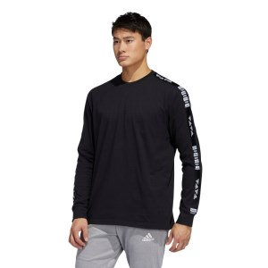 Adidas One Team Graphic Mens Long Sleeve T-Shirt