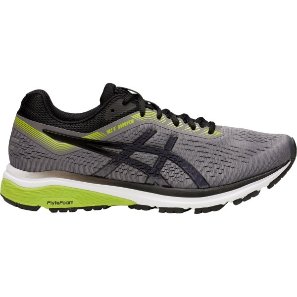 Asics GT-1000 7 - Mens Running Shoes - Carbon/Black/Lime