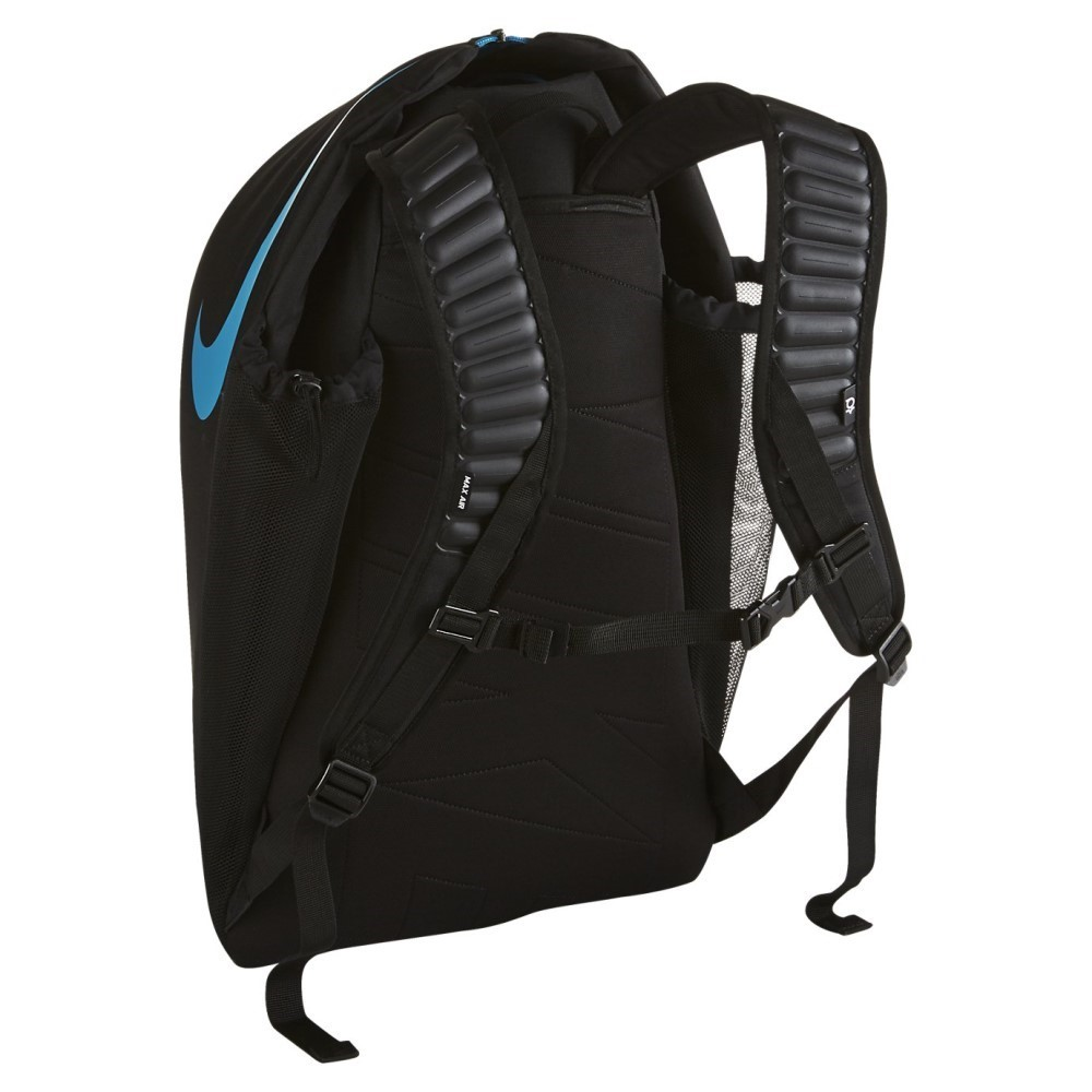 448277088d2 Nike KD Max Air VIII Basketball Backpack - Black Blue Lagoon ...