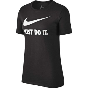 Nike Just Do It Swoosh Womens Casual T-Shirt