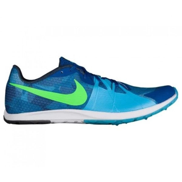 Nike Zoom Rival Waffle - Mens Racing Shoes - Blue Jay/Rage Green/Blue Fox