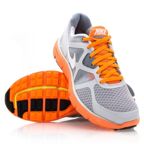 e139619af0dbea Nike LunarGlide 3 GS - Junior Boys Running Shoes - Grey Orange ...