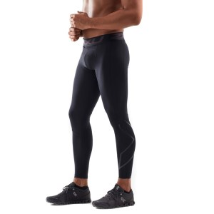 2XU Accelerate Mens Compression Tights With Storage