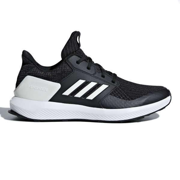Adidas RapidaRun Knit - Kids Boys Running Shoes - Black/White/Carbon