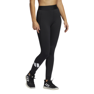 Adidas Techfit Life Mid-Rise Badge Of Sport Womens Long Training Tights