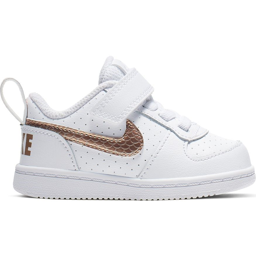 separation shoes d59d7 36dea Nike Court Borough Low EP TDV - Toddler Girls Sneakers - White Blur