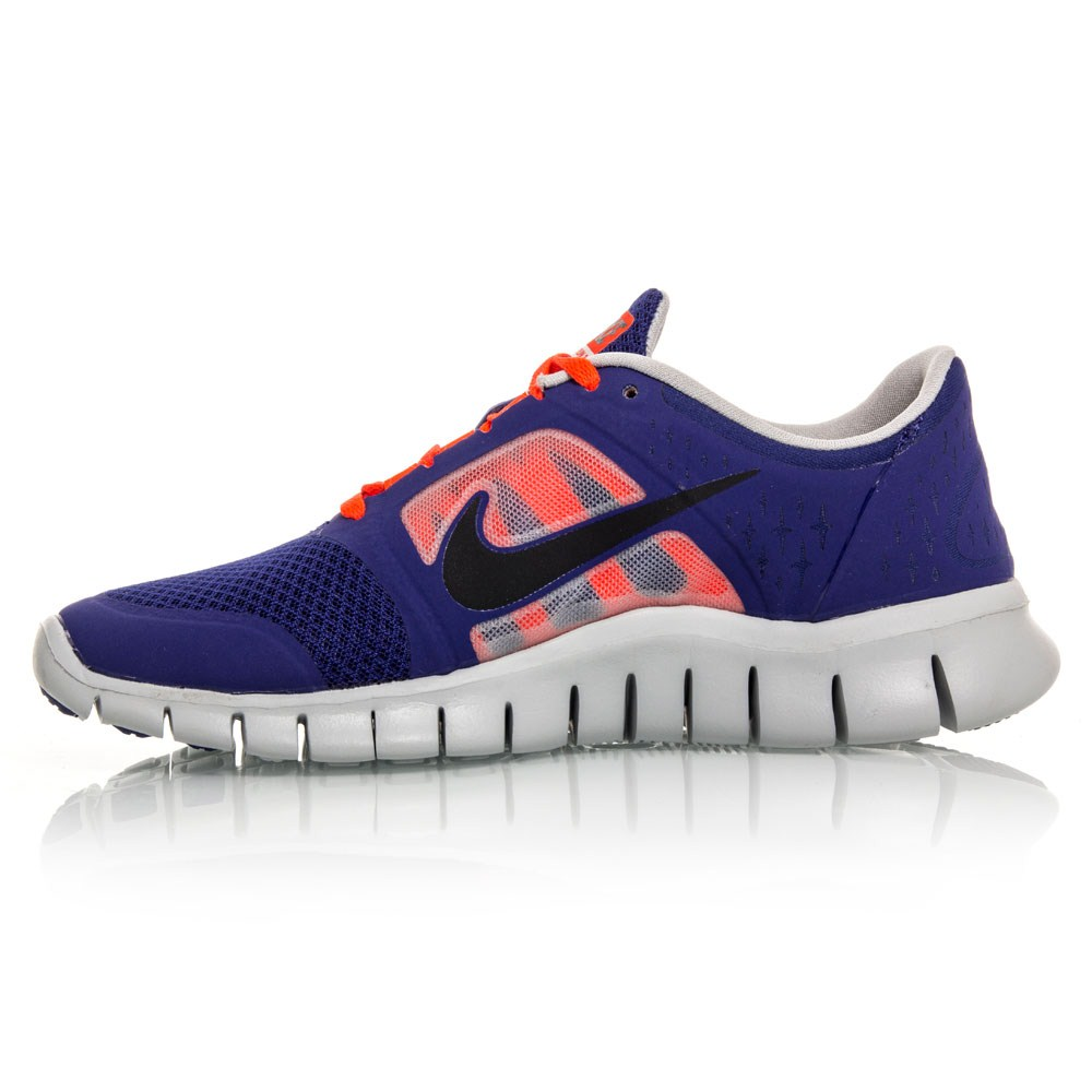 nike free run 3 gs junior boys running shoes blue orange online sportitude. Black Bedroom Furniture Sets. Home Design Ideas