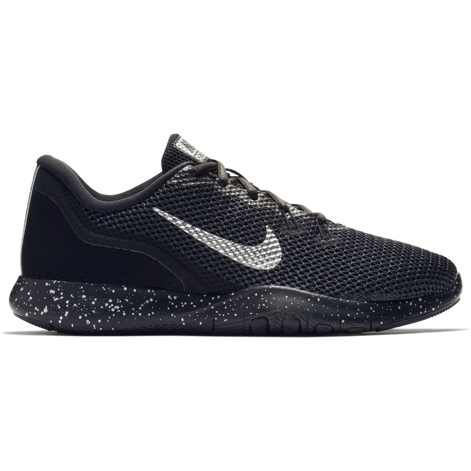 8c5fa066297a Nike Flex Trainer 7 Premium - Womens Training Shoes- Black Chrome-Anthracite