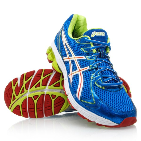 Asics Gt  Mens Shoes Electric Blue White Red