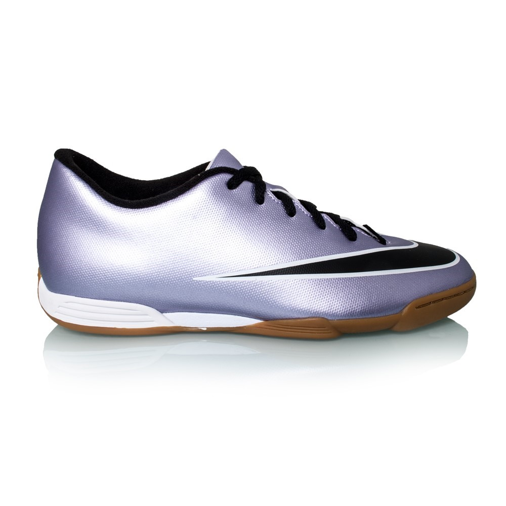 new styles de5db ba93a Nike Mercurial Vortex II IC - Mens Indoor Soccer Shoes - Urban Lilac Black