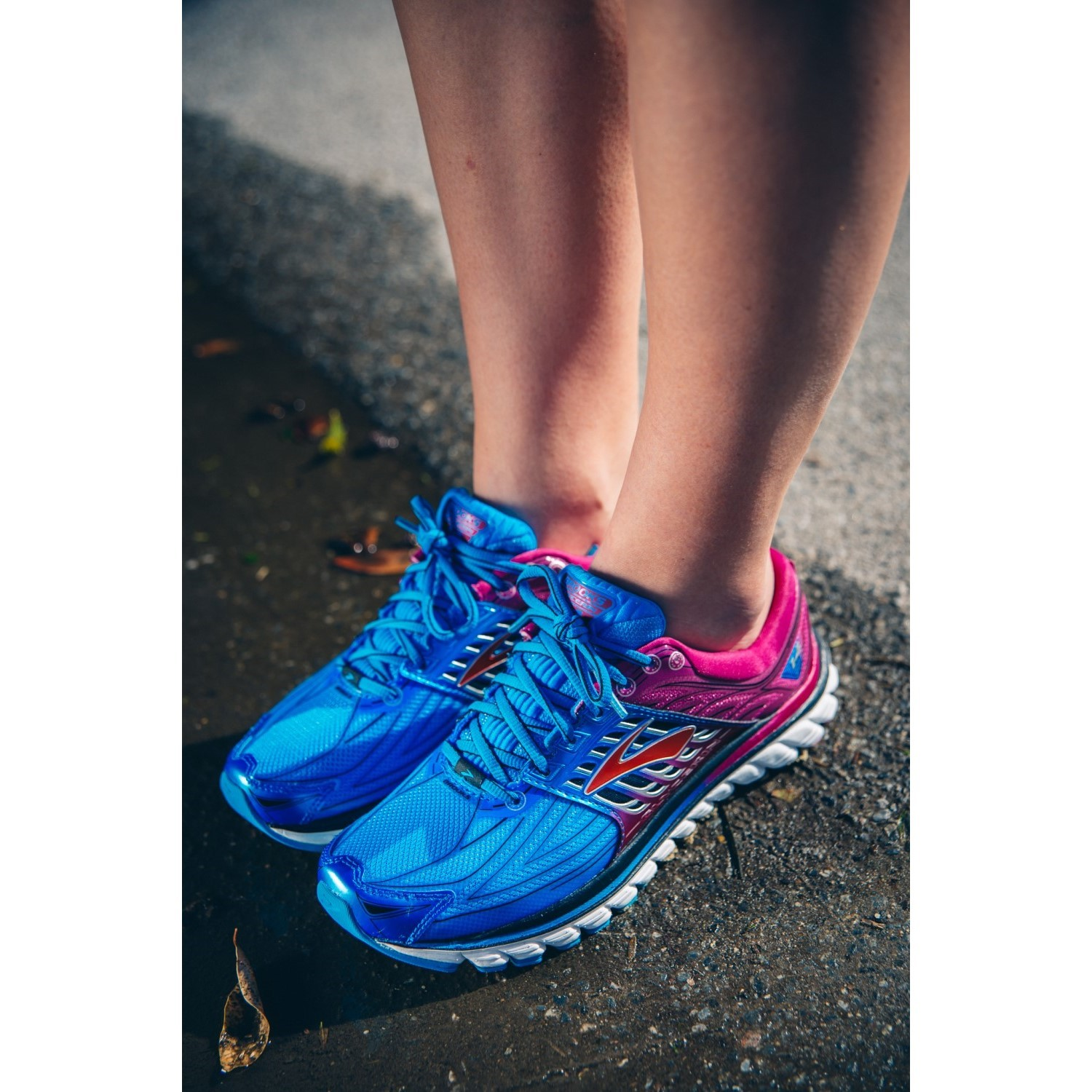 49c0bddd1fa09 Brooks Glycerin 14 - Womens Running Shoes - Dress Blue Fes Fuchsia Black