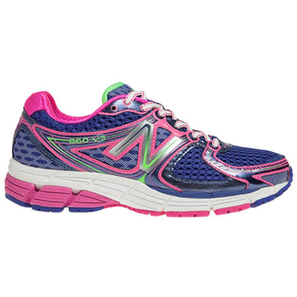 new balance 860v3 womens running shoes purple pink