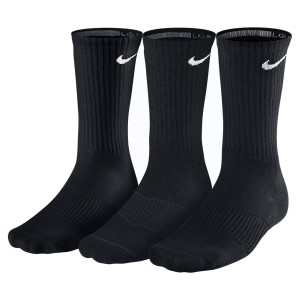 Nike Cotton Cushion 3 Pack Unisex Crew Socks