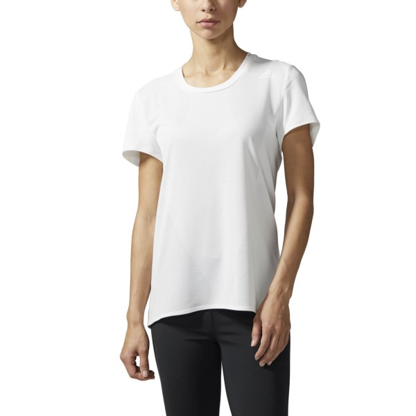 Adidas Supernova Womens Running T-Shirt - White