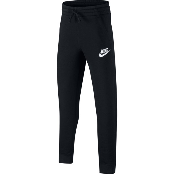 Nike Sportswear Fleece Jogger Kids Boys Sweatpants - Black/White