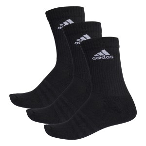 Adidas 3-Stripes Performance Unisex Training Crew Socks - 3 Pairs