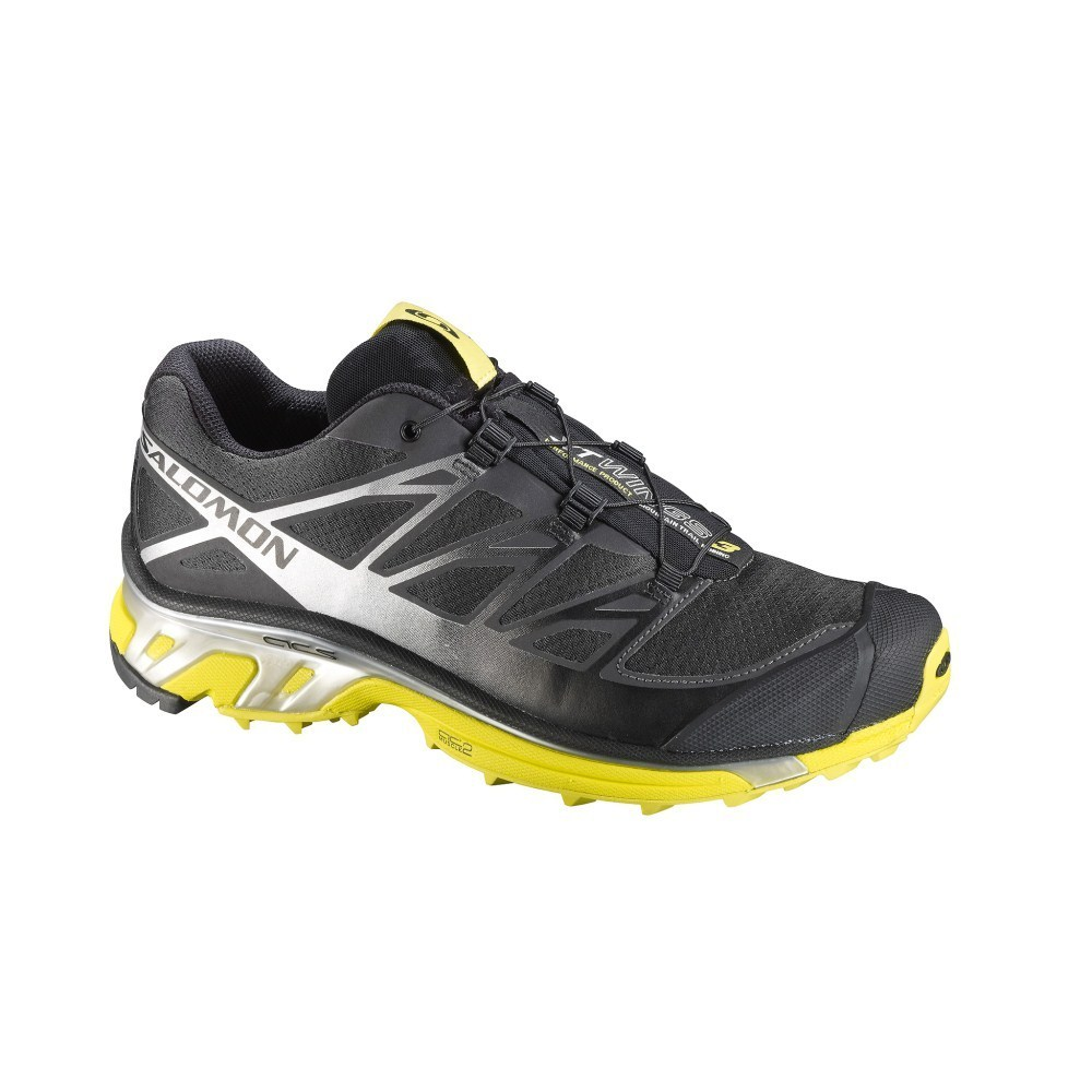 buy popular b5891 f9952 Salomon XT Wings 3 - Mens Trail Running Shoes - Asphalt Silver