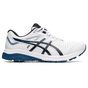 Asics GT-1000 LE - Mens Cross Training Shoes - White/Grand Shark