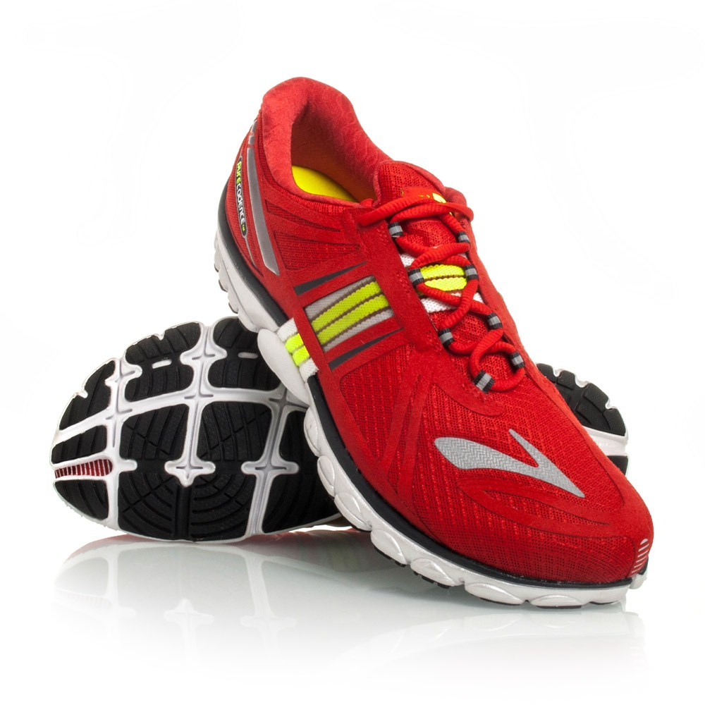 75815a3c7ff24 Brooks PureCadence 2 - Mens Running Shoes - Red Black Yellow ...