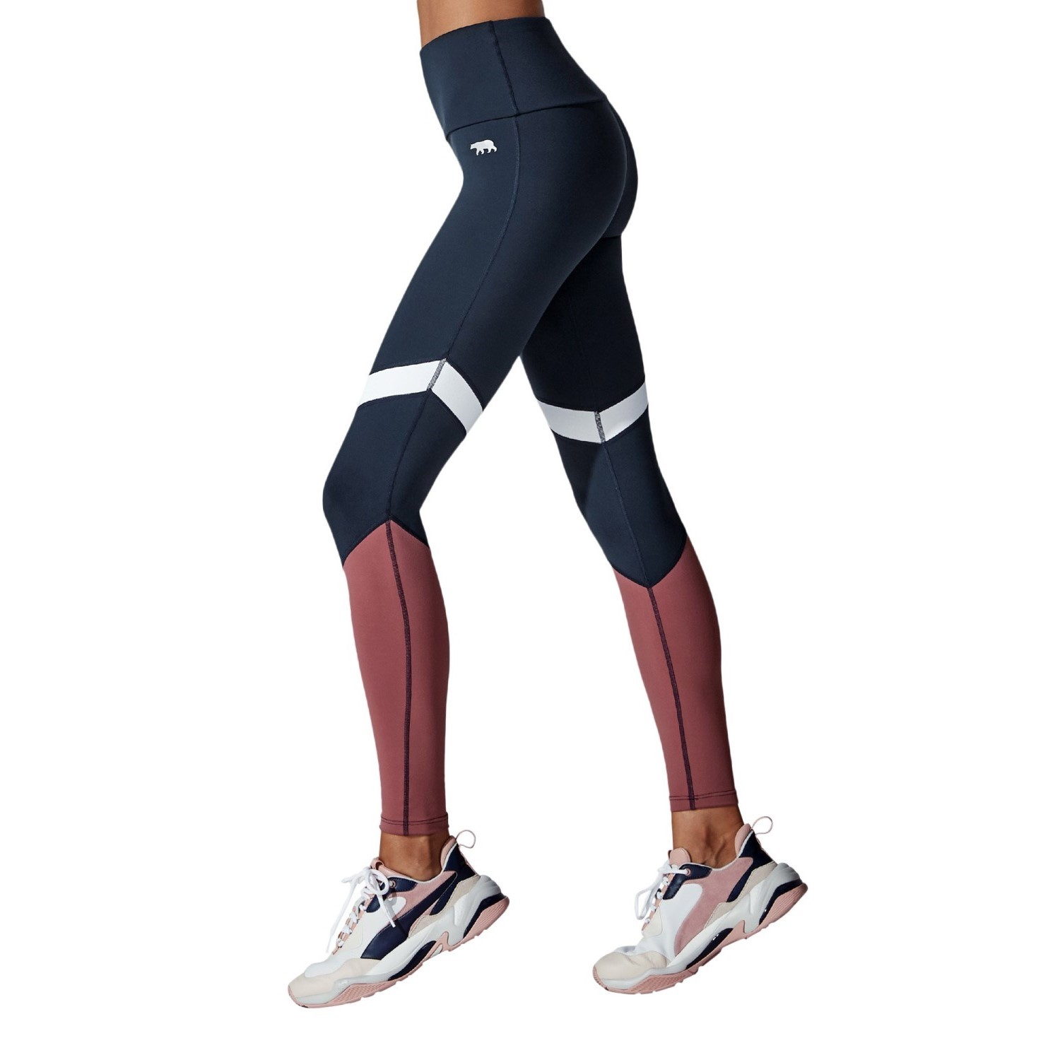 Running Bare Old Skool Women's Full Length Training Tights| Stay At Home Mum