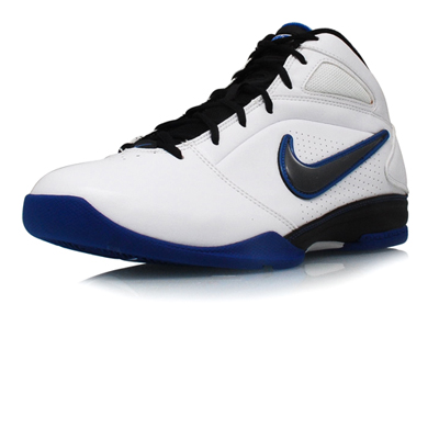 Basketball Shoes White Blue and Black: