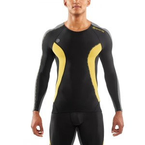 Skins DNAmic Mens Compression Long Sleeve Top