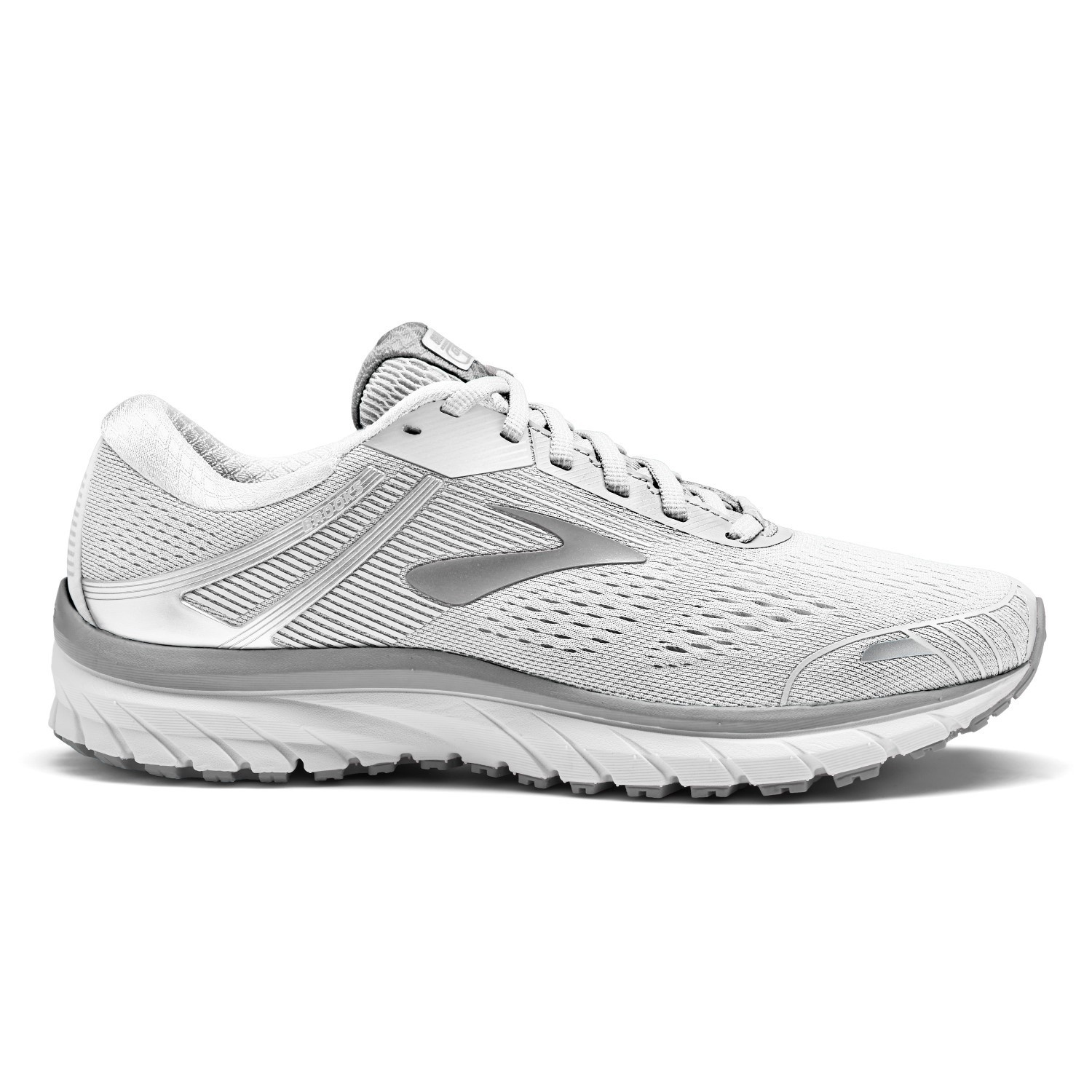 82224bd3b6a9e Brooks Adrenaline GTS 18 - Womens Running Shoes - White