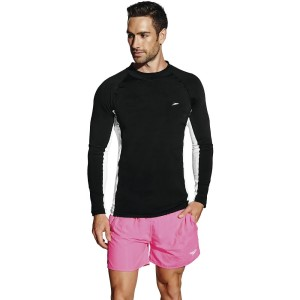 Speedo Slim Fit Mens Long Sleeve Swimming Sun Top