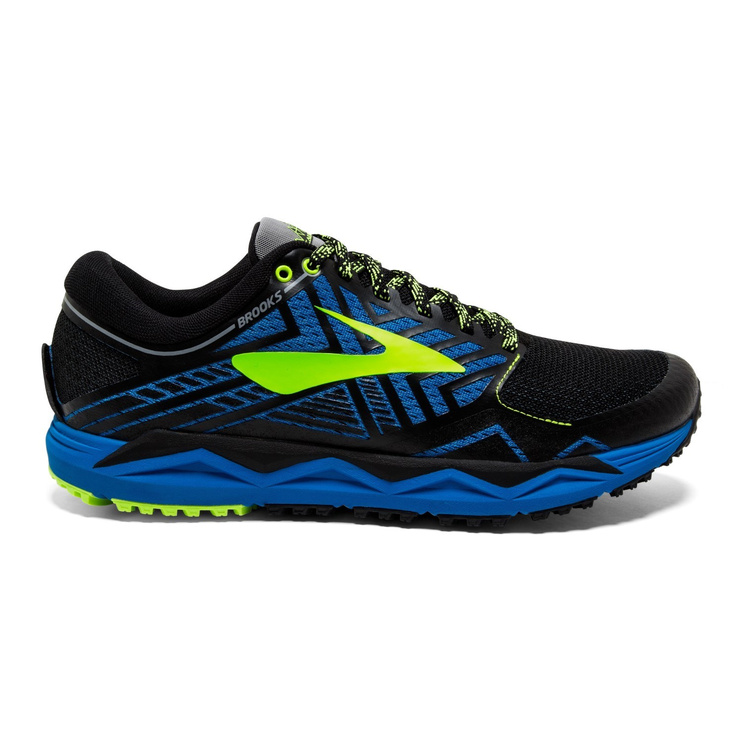 506d1852330 Brooks Caldera 2 - Mens Trail Running Shoes - Blue Black Lime ...