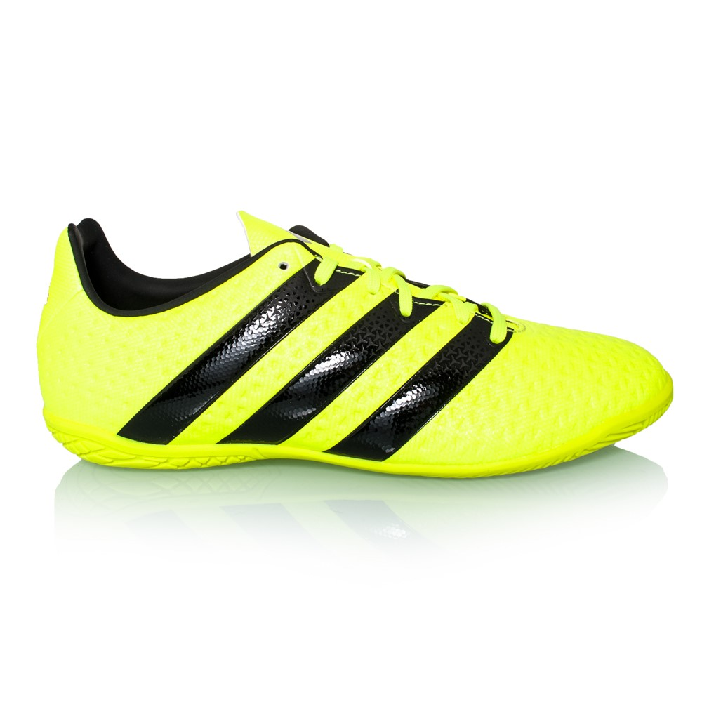 Adidas Black And Yellow Sport Shoes